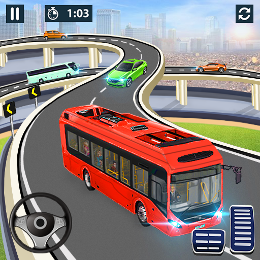 City Coach Bus Simulator 2020 – PvP Free Bus Games MOD Unlimited Money 1.1.1