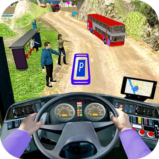 Modern Bus Drive 3D Parking new Games-FFG Bus Game MOD Unlimited Money 2.43