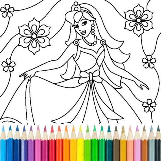 Princess Coloring Game MOD Unlimited Money 14.0.2