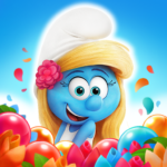 Smurfs Bubble Shooter Story MOD Unlimited Money 3.00.030105