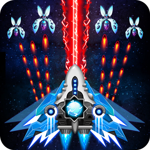 Space shooter – Galaxy attack – Galaxy shooter MOD Unlimited Money 1.422