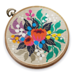 Cross Stitch Club Color by Numbers with a Hoop MOD Unlimited Money 1.4.19