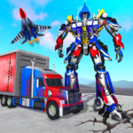 Indian Police Robot Transform Truck MOD Unlimited Money 1.11
