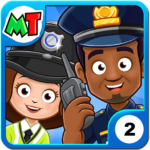 My Town Police Station game for Kids MOD Unlimited Money
