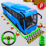 Police Bus Parking Game 3D – Police Bus Games 2019 MOD Unlimited Money 1.0.14