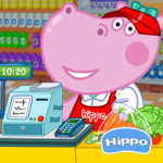 Cashier in the supermarket. Games for kids MOD Unlimited Money