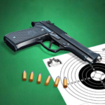 Pistol shooting at the target. Weapon simulator MOD Unlimited Money 4.2