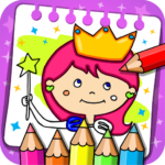 Princess Coloring Book Games MOD Unlimited Money 1.40