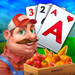 Solitaire Tripeaks Farm Adventure MOD Unlimited Money 1.601.0