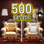 Find the differences 500 levels MOD Unlimited Money 1.1.3