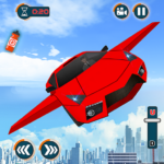 Flying Car Games 2020- Drive Robot Shooting Cars MOD Unlimited Money 1.0