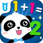Little Panda Math Genius – Education Game For Kids MOD Unlimited Money 8.48.00.01