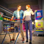 Virtual Mother Shopping Mall – Supermarket Games MOD Unlimited Money 1.0.3