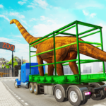 Dino Transport Truck Games Dinosaur Game MOD Unlimited Money 1.4