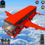 Flying Bus Driving simulator 2019 Free Bus Games MOD Unlimited Money 3.1