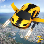 Flying Robot Car Games – Robot Shooting Games 2020 MOD Unlimited Money 2.1