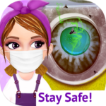 Messy House Cleanup Girls Home Cleaning Activities MOD Unlimited Money 7.0.3