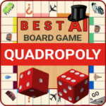 Quadropoly Best AI Board Business Trading Game MOD Unlimited Money 1.78.76
