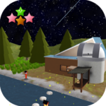 Room Escape Game The starry night and fireflies MOD Unlimited Money 1.0.7