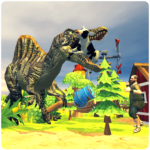 Wild Dino City Rampage T-Rex Simulator MOD Unlimited Money 1.0.2