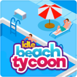 Idle Beach Tycoon Cash Manager Simulator MOD Unlimited Money 1.0.21