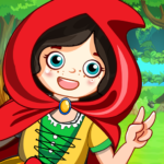Mini Town Red Riding Hood Fairy Tale Kids Games MOD Unlimited Money 2.2