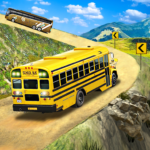 Offroad School Bus Driving Flying Bus Games 2020 MOD Unlimited Money 1.38