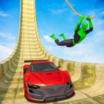 Superhero Mega Ramps GT Racing Car Stunts Game MOD Unlimited Money 1.07