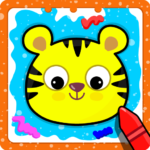Animal Sounds for babies Coloring book for kids MOD Unlimited Money 1.20