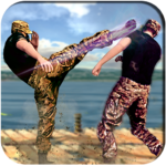 Army Battlefield Kung Fu New Fighting Games 2020 MOD Unlimited Money 1.3