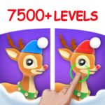 Differences in Eyes Find Spot all Differences MOD Unlimited Money 1.8.3
