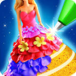 Doll Ice Cream Cake Baking 2019 World Food Maker MOD Unlimited Money 1.0.05