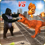 Monster Dino Vs King Kong-City Rampage Simulator MOD Unlimited Money 1.0.3