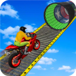 Racing Moto Bike Stunt Impossible Track Game MOD Unlimited Money 1.19