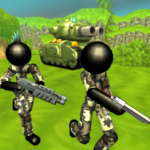Stickman Tank Battle Simulator MOD Unlimited Money 1.10