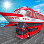 Transport Cruise Ship Game Passenger Bus Simulator MOD Unlimited Money 3.0
