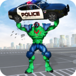 Incredible Monster Robot Hero Crime Shooting Game MOD Unlimited Money 2.0.4