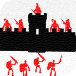 One on one Siege of castles – Offline strategy MOD Unlimited Money 42