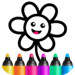 Toddler Drawing Academy Coloring Games for Kids MOD Unlimited Money