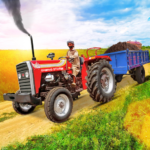 Tractor Trolley Drive Offroad Cargo Tractor Games MOD Unlimited Money 1.0.8