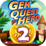 Gem Quest Hero 2 – Jewel Games Quest Match 3 MOD Unlimited Money 1.0.9