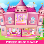 Princess House Cleanup For Girls Keep Home Clean MOD Unlimited Money 25.0.0