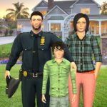 Virtual Police Family Game 2020 -New Virtual Games MOD Unlimited Money 1.3