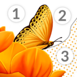 Color by Number for adults – April Coloring (MOD, Unlimited Money) 2.61.0