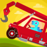 Dinosaur Rescue – Truck Games for kids Toddlers MOD Unlimited Money