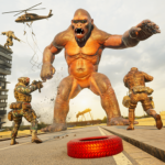 Angry Gorilla City Rampage MOD Unlimited Money
