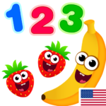 Funny Food 123 Kids Number Games for Toddlers MOD Unlimited Money