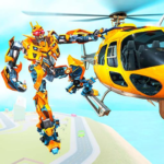 Helicopter Robot Car Transform MOD Unlimited Money