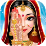 Indian Bride Fashion Wedding Makeover And Makeup MOD Unlimited Money