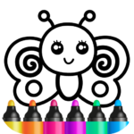 Toddler coloring apps for kids Drawing games MOD Unlimited Money